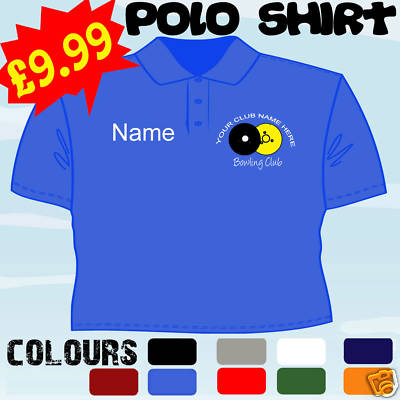 1788a2a2 LAWN BOWLS PLAYER CLUB TEAM PERSONALISED T POLO SHIRT Clothing ...